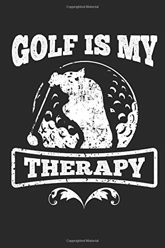 Golfers Notebook: 140 Blank Lined Pages Softcover Notes Journal, College Ruled Composition Notebook, 6x9 Funny Golfers Quote 2 Design por Lark Designs