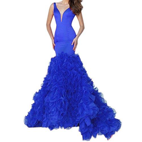 Fanciest -  Vestito  - linea ad a - Donna Royal Blue