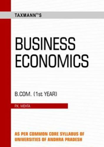 Business Economics: B.Com - Ist Year