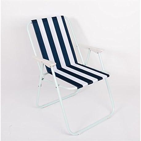 pengweiSilla plegable al aire libre Silla portable de la playa que acampa Respaldo de la silla Taburete casero