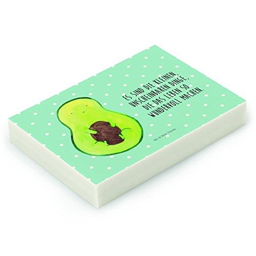 Mr. & Mrs. Panda Radiergummi Avocado mit Kern - 100% handmade in Norddeutschland - Gummi, Kern,...