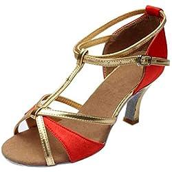 AG&T★ Sandales Femmes Talons Chaussure Sandales Femmes Cheville Talons Sandales Partie Mariage Sandales