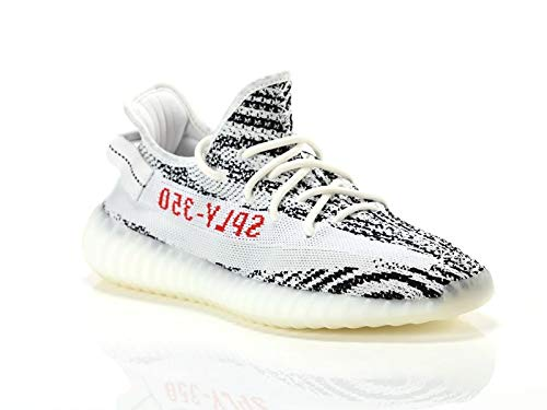 "Adidas Yeezy Boost 350 V2 ""Zebra"" - WHITE/CBLACK/RED Trainer Size 10 UK"