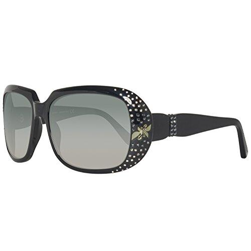 Swarovski sk0013-5901b, occhiali da sole donna, nero (shiny black), 59