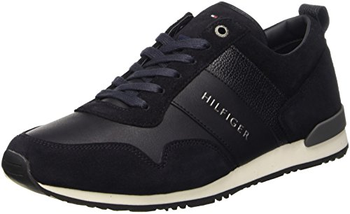Tommy Hilfiger M2285Axwell 11C1, Scarpe Low-Top Uomo, Blu (Midnight (403)), 43 EU