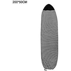 RecoverLOVE Housse de Surf, Housse de Protection légère pour Planches de Surf, 6/6.3/6.6/7 / 7ft Housse de Snowboard | Housse de Protection pour Le Surf, Accessoire de Surf génial