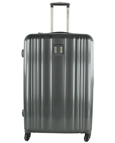 Valise extensible ELITE SHIELD APOLLO GREY polycarbonate 78 cm