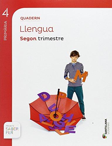 QUADERN LLENGUA 4 PRIMÀRIA 2 TRIM SABER FER - 9788490583043