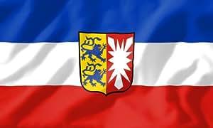 Schleswig Holstein Landesflagge Bundesland Wappen Fahne