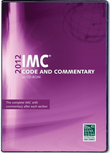 2012 International Mechanical Code Commentary CD-ROM (International Code Council Series) by International Code Council (2012-08-30)