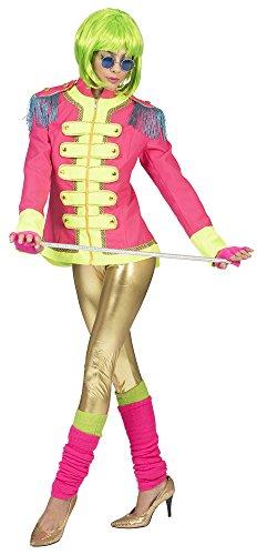 Pierro's Karnevalshop Sergeant Pepper Beatles Jacke für Damen - Pink - Gr. 44 46