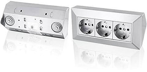 Multiprise triple – 230 V 16 A 3600 W –