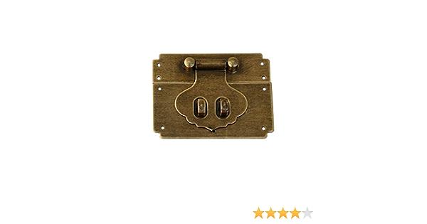 Tiazza Loquet de verrouillage en laiton antique 9 cm bronze antique