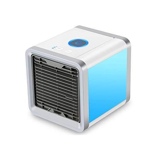 Air Cooler, Mini ventilador de escritorio purificador de aire humidificador 3 en...