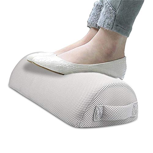 Biback Fußstützenkissen, tragbare Fußstütze für den Schreibtisch, weich, atmungsaktiv,...