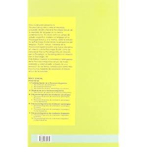 Psicosociolingüística (Serie de Educación y Psicología)