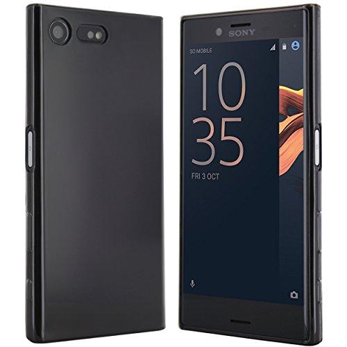 Sony Xperia X Compact Hülle in Schwarz - moodie Silikonhülle Case Schutzhülle für Sony Xperia X Compact