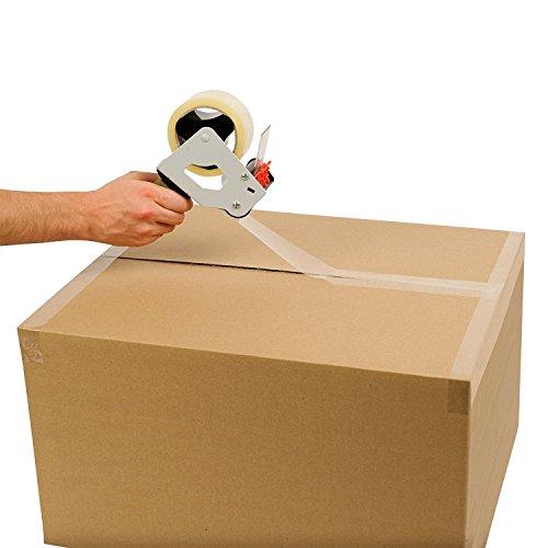 Packatape® — 6 Rollen 48mm x 66m transparent Paket-Klebeband für Päckchen und Kisten. Mit diesem 6er Pack hochleistungs-Klebeband erwerben sie ein sicheres, klebestarkes Verschlussmaterial für ihre Pakete auf das sie sich verlassen können. - 5