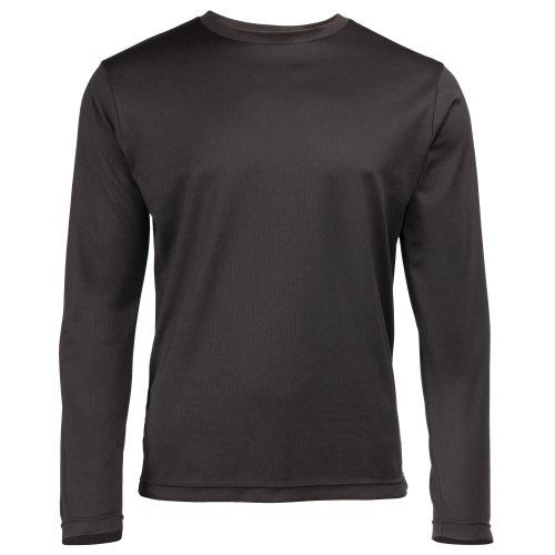 Just Cool Herren T-Shirt Langarm Cool Performance XXL,Black -