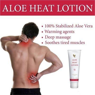 Forever Living Aloe Heat Lotion 3pc by FLP