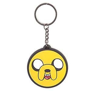 Adventure Time Jake en caoutchouc Porte-clés (Orange)