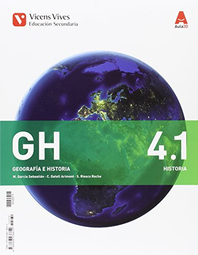 GH 4 (4.1-4.2)+ SEPARATA EXTREMADURA (AULA 3D): 000002 - 9788468225678 por Margarita Garcia Sebastian