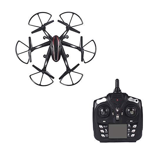 DYYD Mini avión no tripulado, Aviones de Cuatro Ejes Plegables a Distancia,...