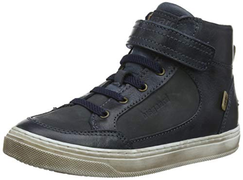 Bisgaard Jungen Felix Hohe Sneaker, Blau (Jeans 603-1), 39 EU