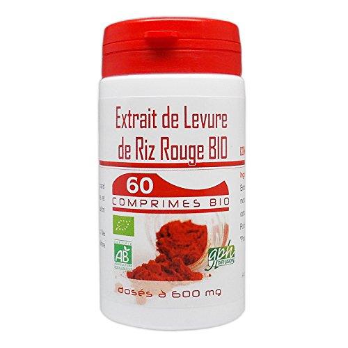Extrait de levure de riz rouge Bio 60 comprimes
