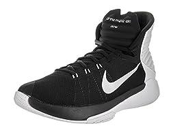 Nike Prime Hype DF 2016 Black Basketball Shoes (10 UK/India)