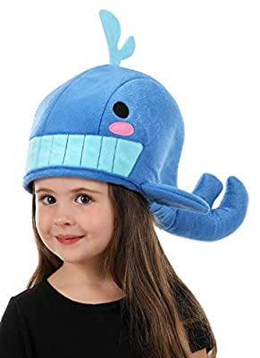 elope Cute Plush Blue Whale QuirkyKawaii Hat