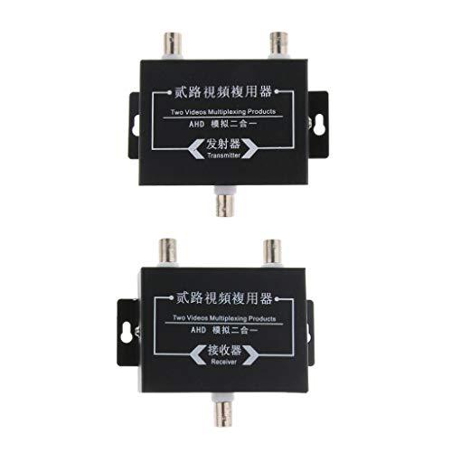 Video-multiplexer (FLAMEER HD Video Multiplexer Koaxialkabel Signalempfänger)