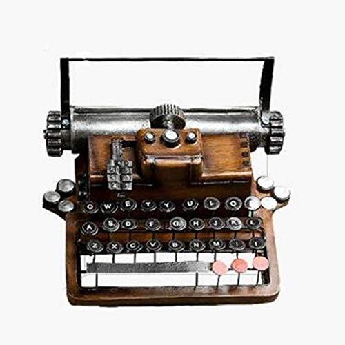 YUN-X Kreatives amerikanisches Retro- Schreibmaschinenmodell verziert Wohnzimmer...