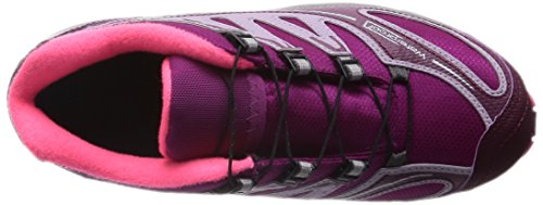 Salomon Junior XA Pro 2 Waterproof Chaussure Course Trial Rose