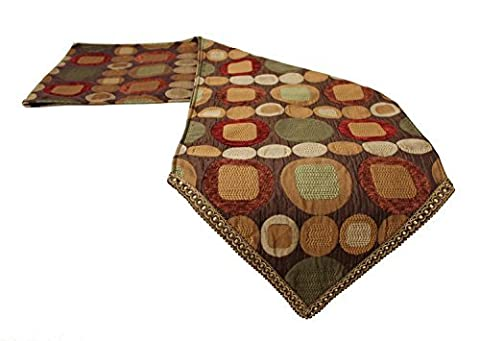 Sherry Kline Metro Spice Table Runner (Many Sizes Available!) (13 x 108) by Sherry Kline Table Linen