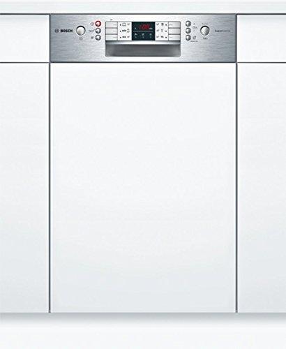 Bosch SPI46MS01E Geschirrspüler Teilintegriert / A+ / 237 kWh/Jahr / 2660 L/jahr / Aqua Sensor / Active Water Hydrauliksystem / Edelstahl