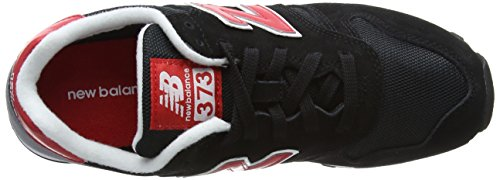 New Balance Herren Ml_wl373v1 Low-Top Schwarz (Black/Grey/Red)