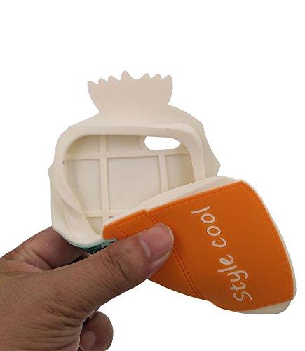iPhone 6 / 6S Hülle, BENKER Hochwertig Schlagfeste und Kratzfeste (Mexikanischer Stil) Weich Silikon Kreativ 3D Cartoon Telefon Fall - Kaktus 4 Kaktus 2