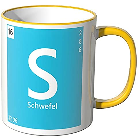 Wandkings® Tasse, Element Schwefel