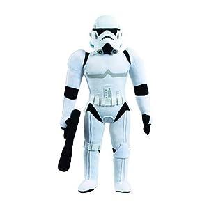 Jazwares 15236sw00451Star Wars Super Deluxe Figura de Peluche con Sonido Storm Trooper 60cm