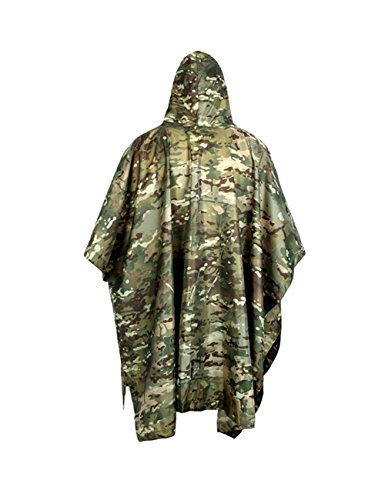 Free soldier Herren Regenjacke Cp Camouflage