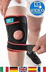 FitFitaly Kniebandage für Meniskus, Patella und Bänder - Verstellbarer Knieschutz für Sport und Reha