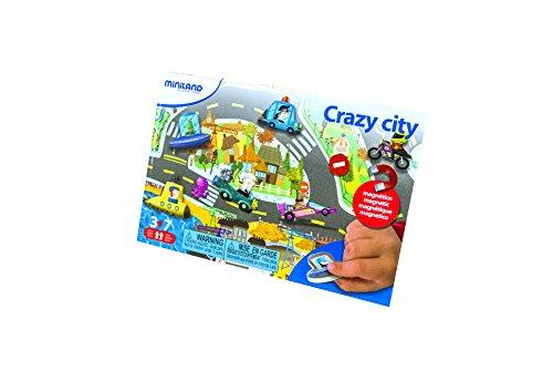 Miniland 31962 - on The Go: Crazy City, Experimentierspielzeug Preisvergleich