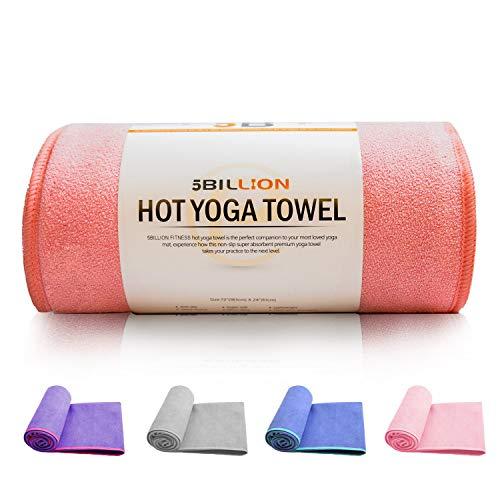 Tapis de yoga de voyage en microfibre