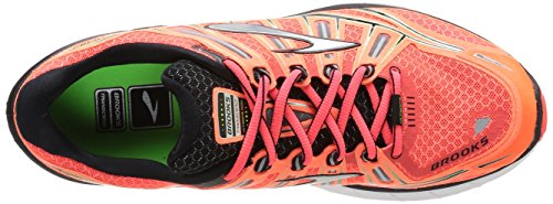 Brooks Transcend pour homme Fierycoral/Silver/Green