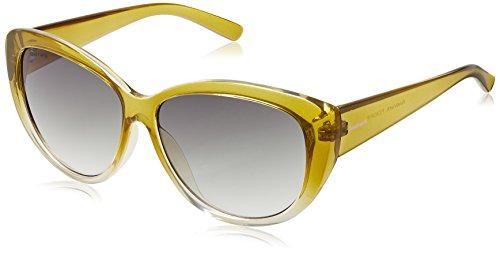 Fastrack Cateye Sunglasses (Green) (P234GR1F) image