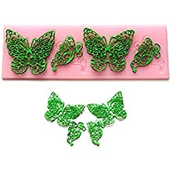 Silicone Butterfly Lace Fondant Embossing Dies Cake Decorating /Sugarcraft Moulds by SUPPLIED BY HARDWARE FOR YOU