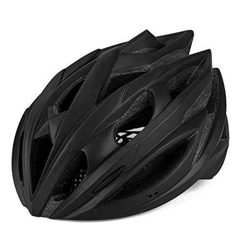 S-TK Fahrradhelm Herren, Micro Helm Giro Fahrradhelm Rennradhelm Fahrradhelm Mit Licht 58cm-62cm Schwarz Abus Aduro
