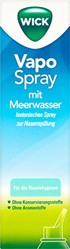 Wick VapoSpray mit Meerwasser - isotonisch Spray, 100 ml