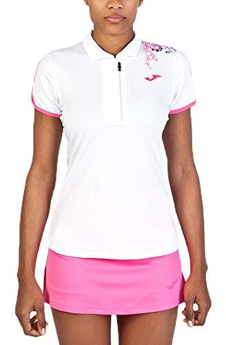 Joma 900165.218S - Polo para mujer, color blanco, talla S